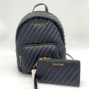 Michael Kors MD Erin Backpack & Double Zip Wallet